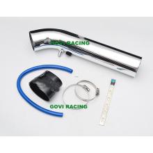 Tubería de entrada de aire de aluminio de 3 '' automática con el gancho de goma y el soporte de las abrazaderas