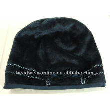 Bonnets / chapeaux witer de haute qualité avec logo de broderie
