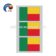 Autocollant temporaire de tatouage du drapeau national 2018