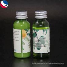 Косметическое оливковое масло лосьон флип-топ пластиковые бутылки для лосьон для тела