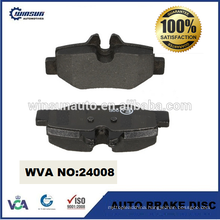 24008 bus disc brake pad for Mercedes VITO 0004216210 0014211010 0034208120