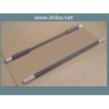 La gamme de température des éléments de chauffage de four électrique de Sic est de 600c-1400c