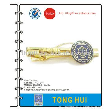 Broche / clip / barre de cravate en métal de l'université maritime