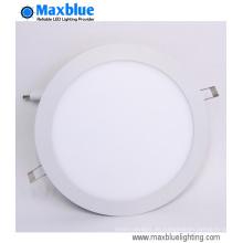 10W schlankes rundes Einbauleuchten-LED-Panel-Licht