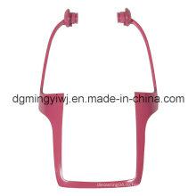 Алюминиевая литья OEM завод с красным цветом, который одобрен ISO9001-2008 Сделано в Китае