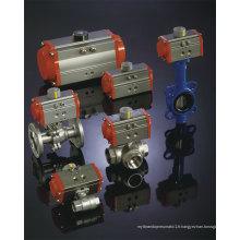 Basse température Type actionneur pneumatique -40 ~ 80 degrés la température fonctionnante