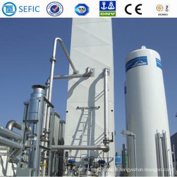 Usine d'oxygène de l'usine de séparation des gaz de l'air Asu (SEFIC-ASU)
