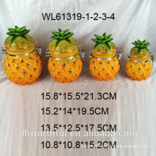 ceramic pineapple airtight container