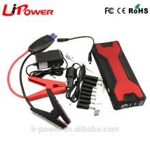 V18 Banco portable de la energía de la emergencia 12V 18000mAH Mini arrancador del salto del coche con el cable de puente elegante del coche