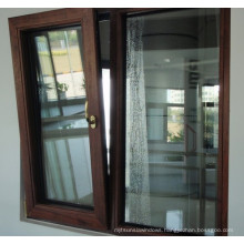 Double Glazed Aluminum Tilt and Turn Window