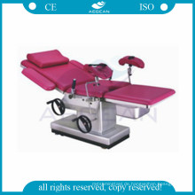 AG-C102C CE genehmigt chirurgische elektrische Lieferung Gynäkologie Ausrüstung chirurgische Geburtshilfe OP-Tisch