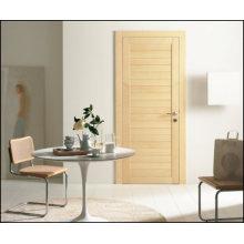 2015 Nuevo Diseño Compuesto Material Vidrio Insertar Puerta de madera maciza