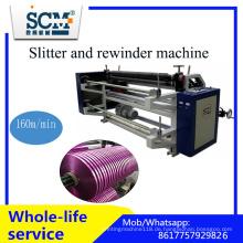 Ribbon / Tape / BOPP / Non Woven / Papierschneid- und Rückspulmaschine