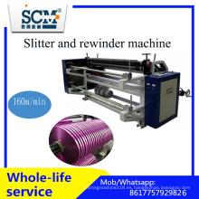 Cinta / cinta / BOPP / no tejida / máquina de corte y rebobinado de papel