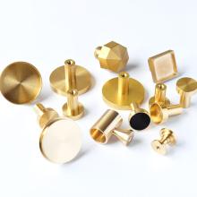 OEM Custom CNC Machining Parts Machined Brass CNC Milling Parts Precision Medical Equipment Machining Turning Brass CNC Parts