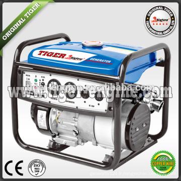 2.5kw 168FA générateur d'essence 6.5hp groupe électrogène essence