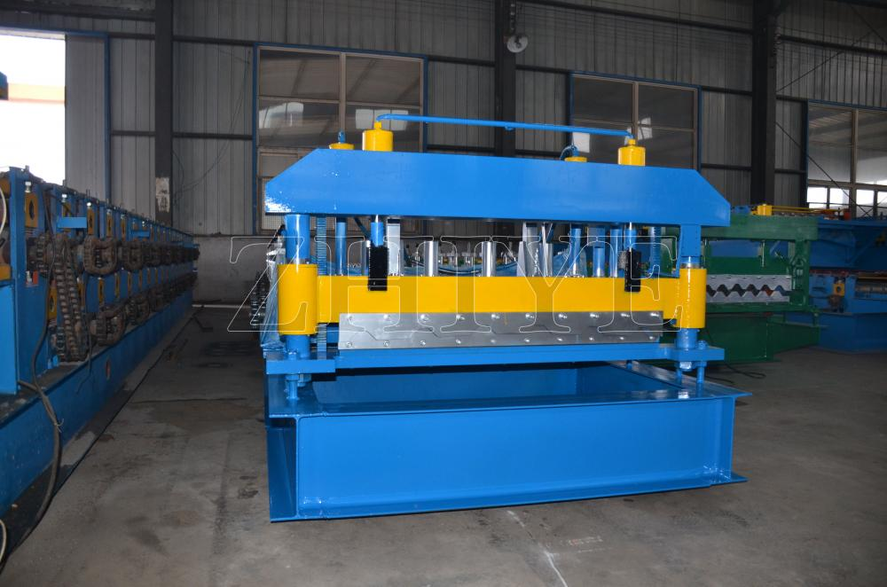 Kecekapan Tinggi GI Glazed Tile Making Machine Zhiye