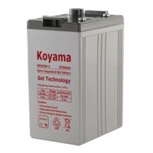 Acumuladores de gel estacionários / Bateria 2V 500ah para sistemas de energia elétrica e central elétrica