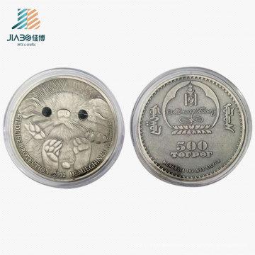 Antique Silver Customize Australian Koala Promotional Gift Metal Souvenir Coin