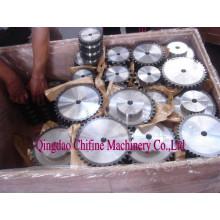 Стандартные промышленные цепного колеса Дуплекса колеса для двойной Роликовой цепи