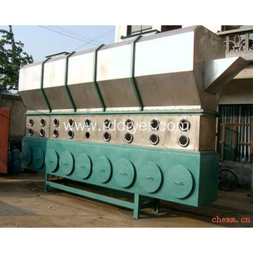 Citric Acid Horizontal Fluid Bed Dryer