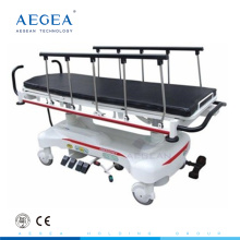 AG-HS007 cinco funciones de transferencia eléctrica hospital de emergencia camillas usadas para ambulancia