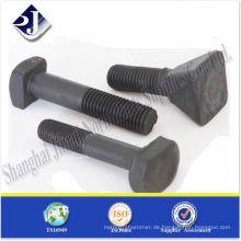 SAE hochfeste spezielle GR10.9 Schrauben schwarz TS16949 ISO9001
