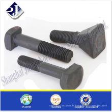 SAE boulons GR10.9 spéciaux à haute résistance à la traction noir TS16949 ISO9001