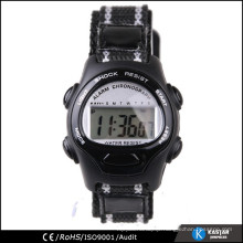 comfortable nylone strap kid digital watch