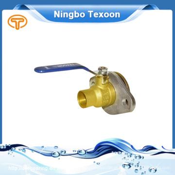 Válvula de esfera de bronze de Cw617N China fornecedor de alta qualidade