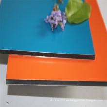 Guangzhou Xinghe 3mm 4mm Impreso Letrero de Publicidad de Panel de Aluminio
