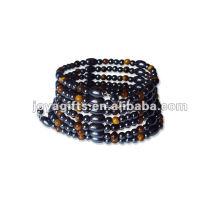 "Magnetische Tiger Perlenverpackung Armbänder & Halskette 36 """
