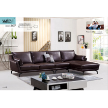 Simple Italy designs L shape Living Room Sofa