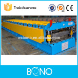 Metal alumium soffit corrugated roof machine