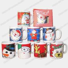 Рождественская музыкальная кружка, музыкальные кружки, керамическая чашка, кружка