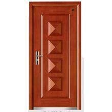 Latest Design Steel Wooden Armored Door