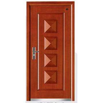 Latest Design Steel Wooden Armored Door