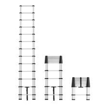 EN131 escada padrão escada articulada para espinha de peixe