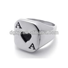 Edelstahl Poker Ein Paar Verlobungsringe