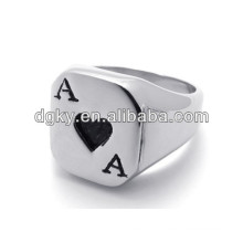 Stainless Steel Poker A Couples Engagement Rings