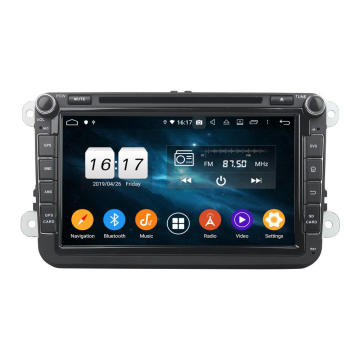 Android 9.0 carro dvd player para VW universal