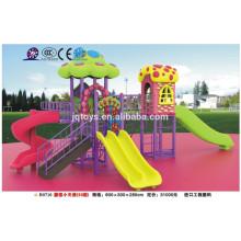 B0710 jardim de infância New Kids Outdoor Casa de cogumelo plástico Playground Design de equipamento