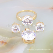 zhefan new design price of 1 carat diamond dubai gold jewelry set companies looking for distributors