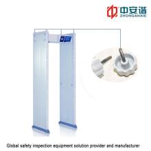 Détecteur de métaux imperméable à l'eau antichoc à écran tactile à écran tactile de 7 pouces