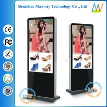 "Multi-zone display and slim type floor stand 55"" digital signage"