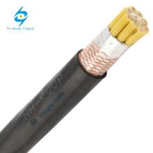 câble en cuivre de zr-kvvp cu / pvc / pvc de cuivre de basse tension 450 / 750v blindé
