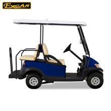 4 lugares 48V carrinho de golfe elétrico com caixa de carga