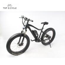 Bicicleta eléctrica de la nieve del neumático gordo del motor de la impulsión media de 48V 750W 8Fun en venta