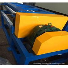 Maquinaria de gofrado para pisos de rodillos de acero de la más alta calidad