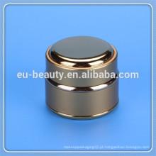 30g frasco de metal para creme cosmético